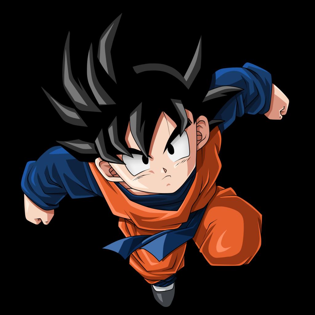 Dragon Ball Z Goku PNG Photo.