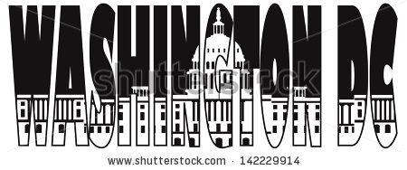 DC Black and White Clip Art.