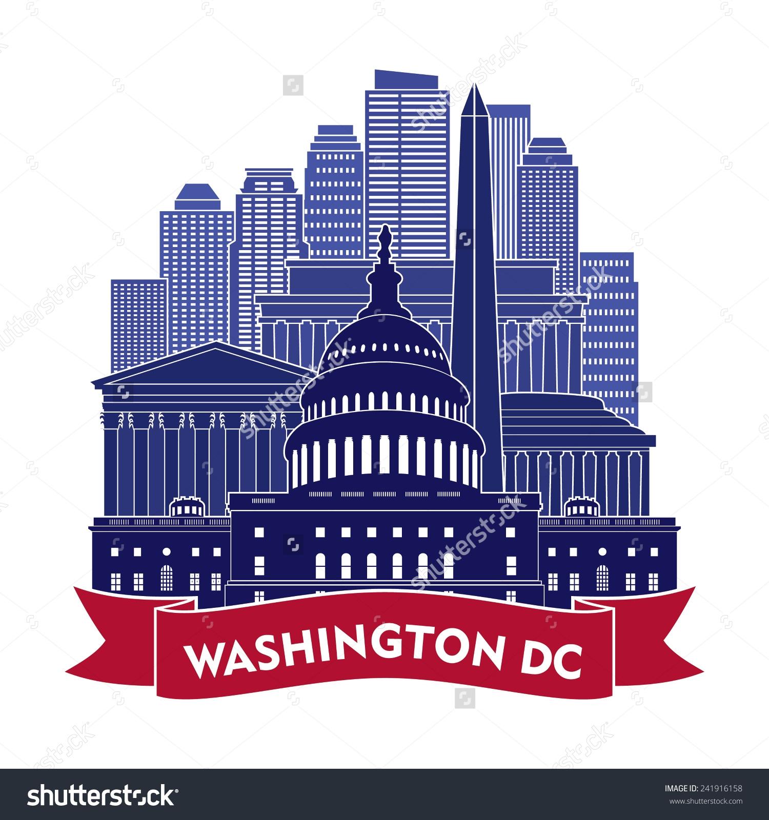 Washington dc clipart.
