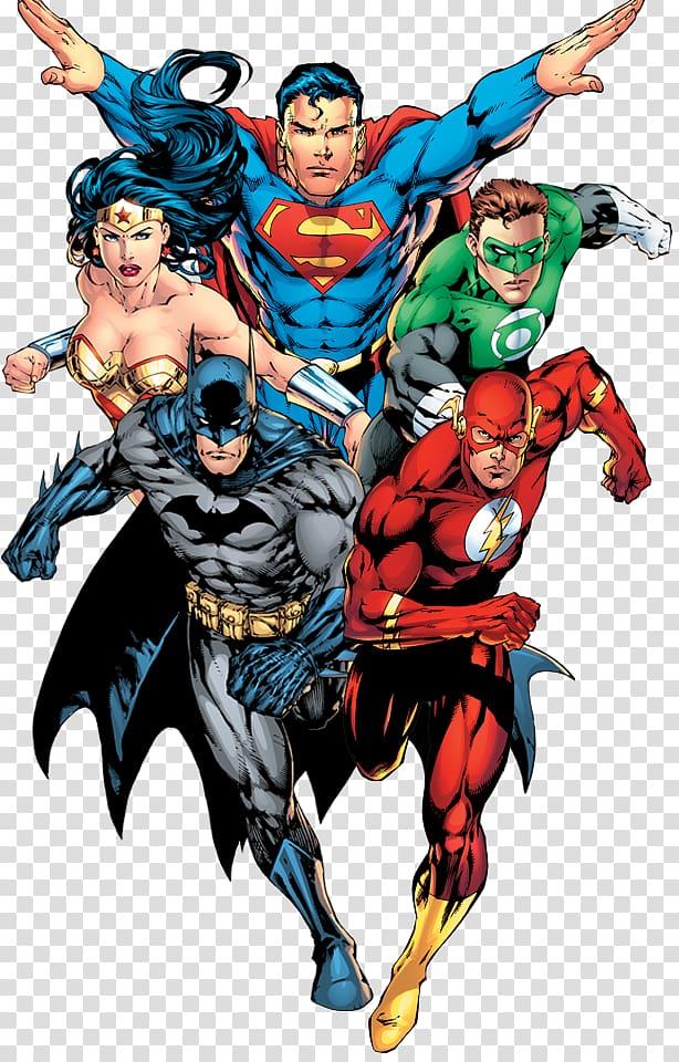 DC Superman, Flash, Batman, Wonder Woman, and Green Lantern , Batman.