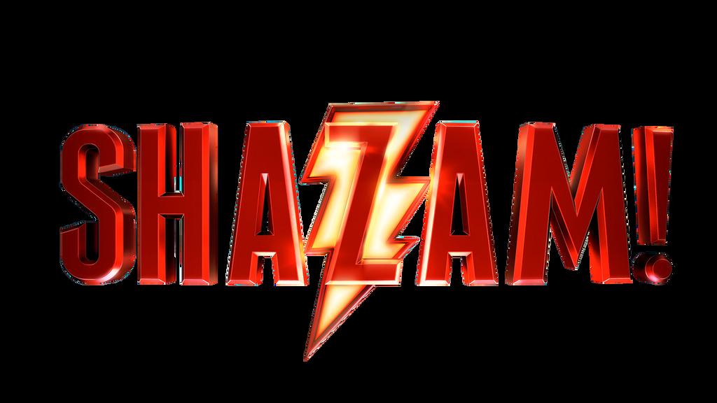 Download Free png Logo: Shazam! Movie.