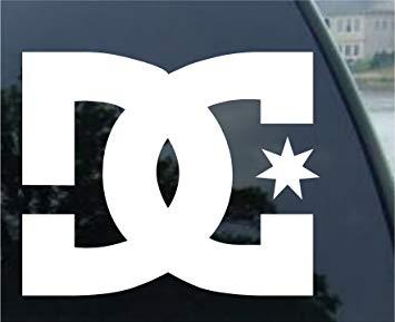 DC SHOE COMPANY LOGO Vinyl Decal/Sticker 3\