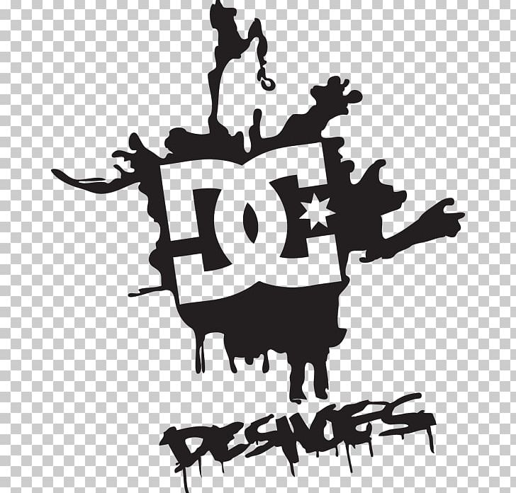 Sticker DC Shoes Decal Logo Graphics PNG, Clipart, Black And.