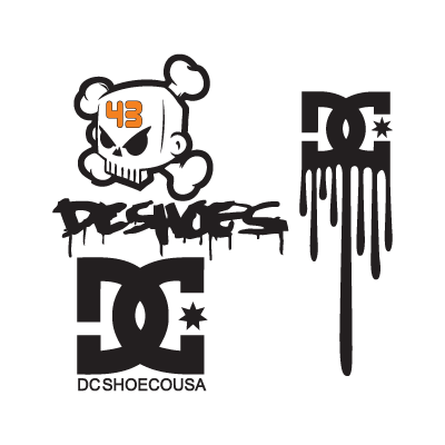 DC Shoes logo vector in (.EPS, .AI, .CDR) free download.