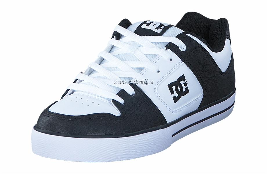 Dc Shoes Pure Black/white/black Herr Sneakers & Sportskor.