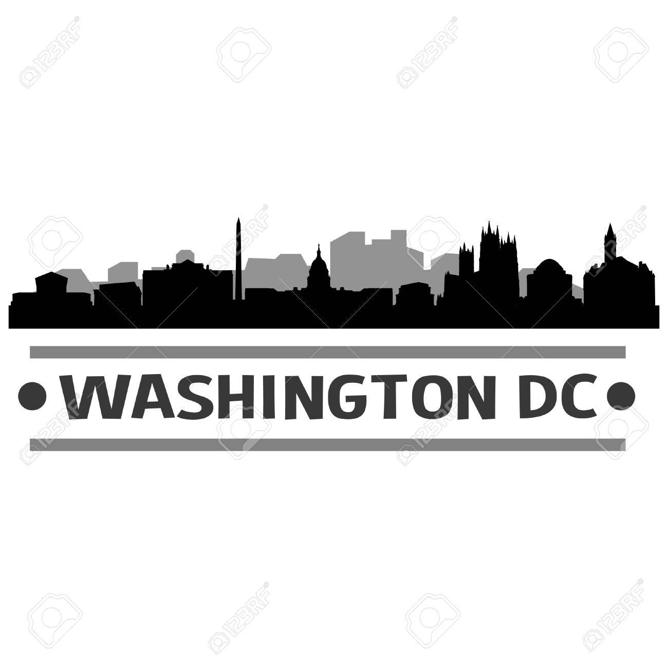 Washington dc skyline clipart 1 » Clipart Portal.