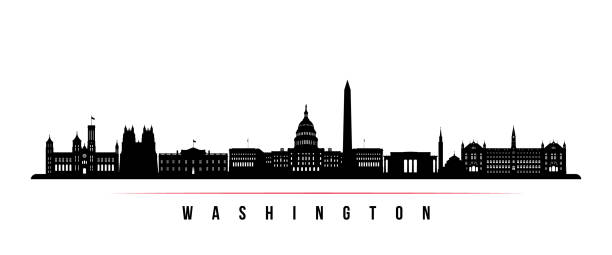 Best Washington Dc Skyline Illustrations, Royalty.