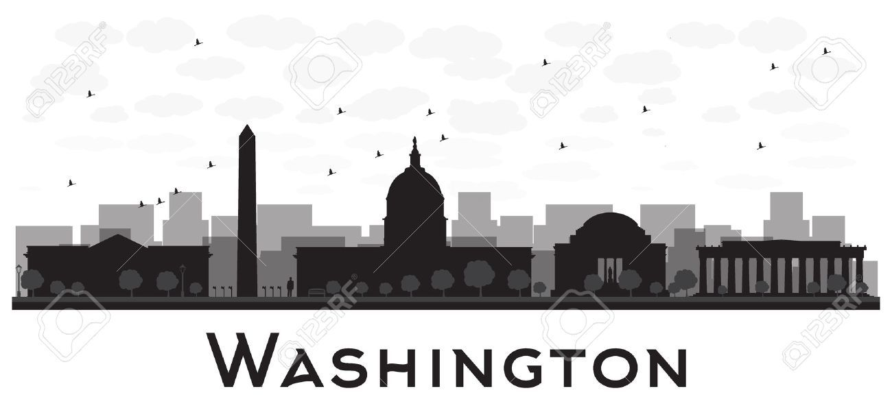 Washington dc skyline clipart 3 » Clipart Portal.