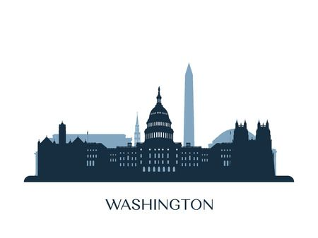 369 Washington Dc Skyline Cliparts, Stock Vector And Royalty Free.