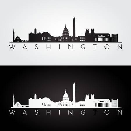 Washington dc skyline clipart 2 » Clipart Portal.