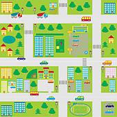 Street Map Clipart.