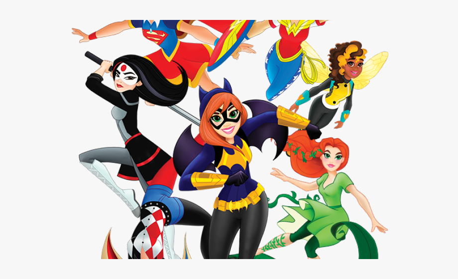 Cosplay Clipart Dc Superhero Girl.