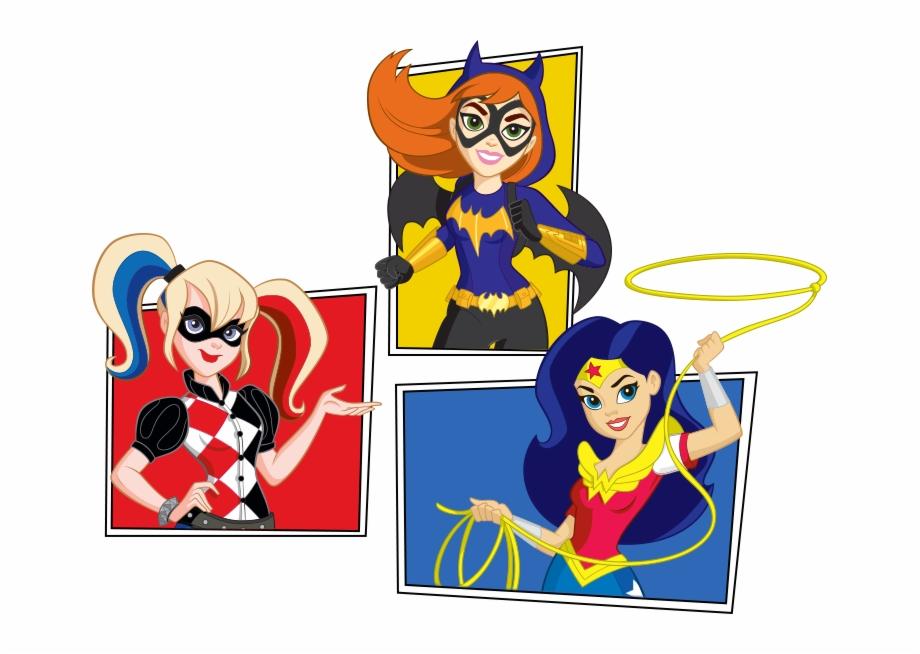 Dc Superhero Girls Png.