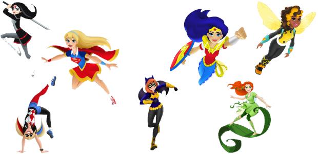 DC Super Hero Girls.