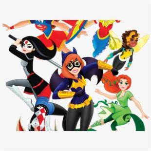 Cosplay Clipart Dc Superhero Girl.