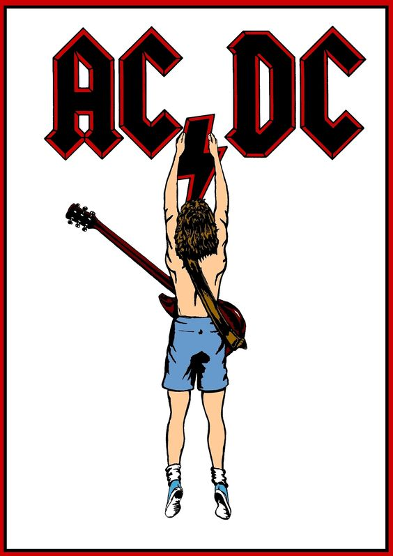 Pin by Greg O'Hare on AC/DC Posters.