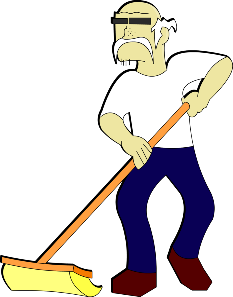 Janitor pictures clip art.