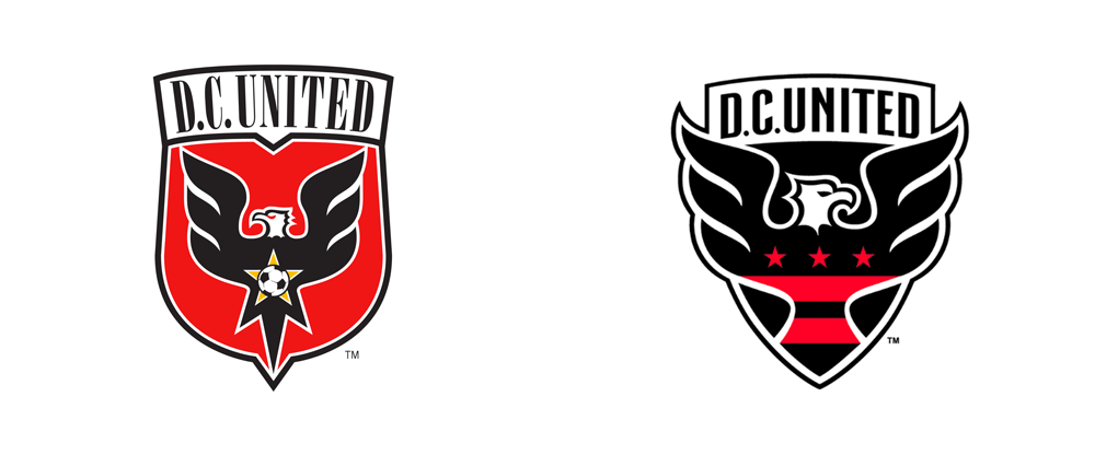 Brand New: New Logo for D.C. United by Red Peak Group.