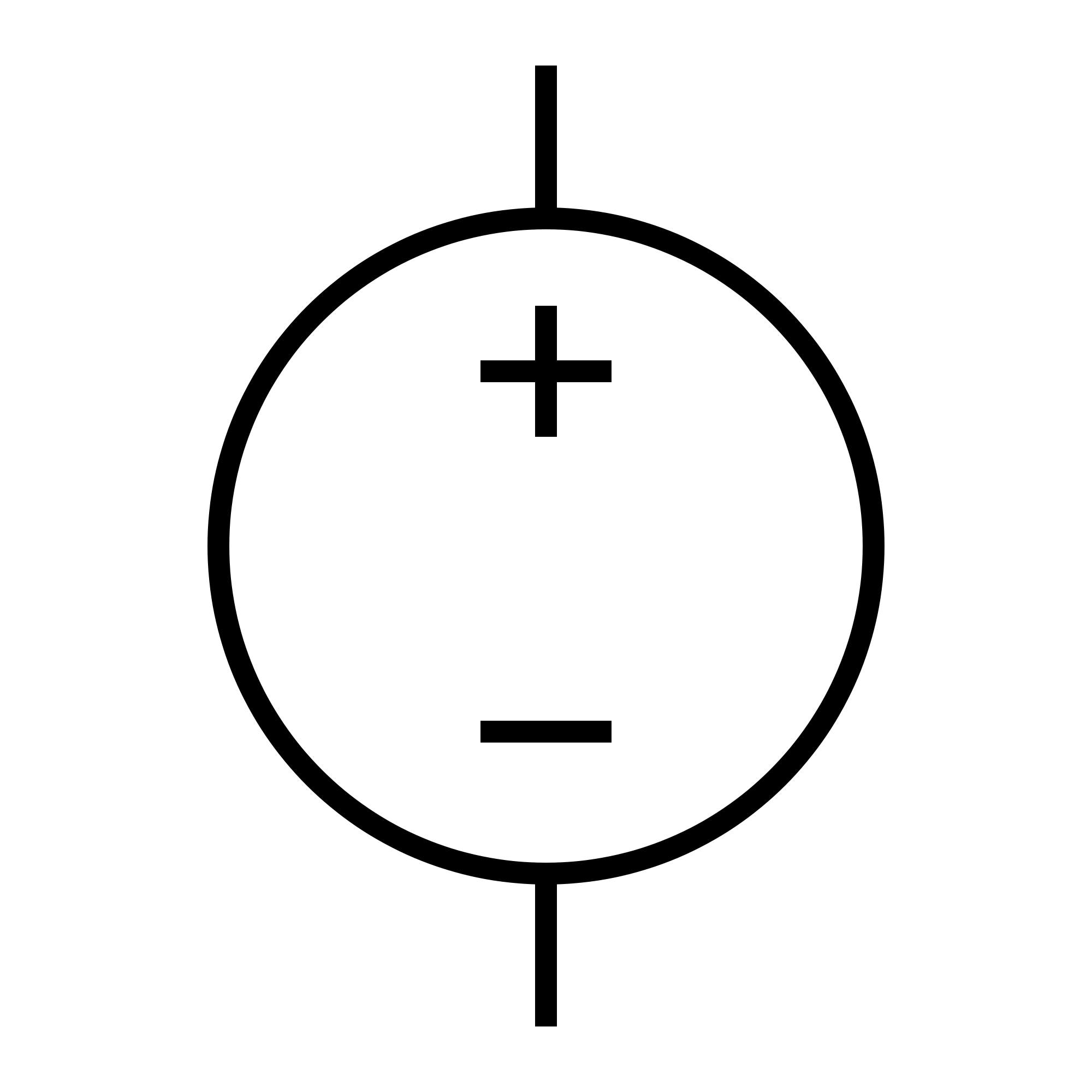 Dc Supply Symbol.