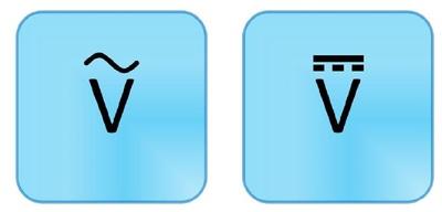 Voltage Ac Symbol.