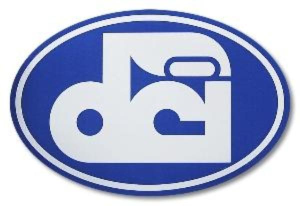 DCI Logo Sticker.