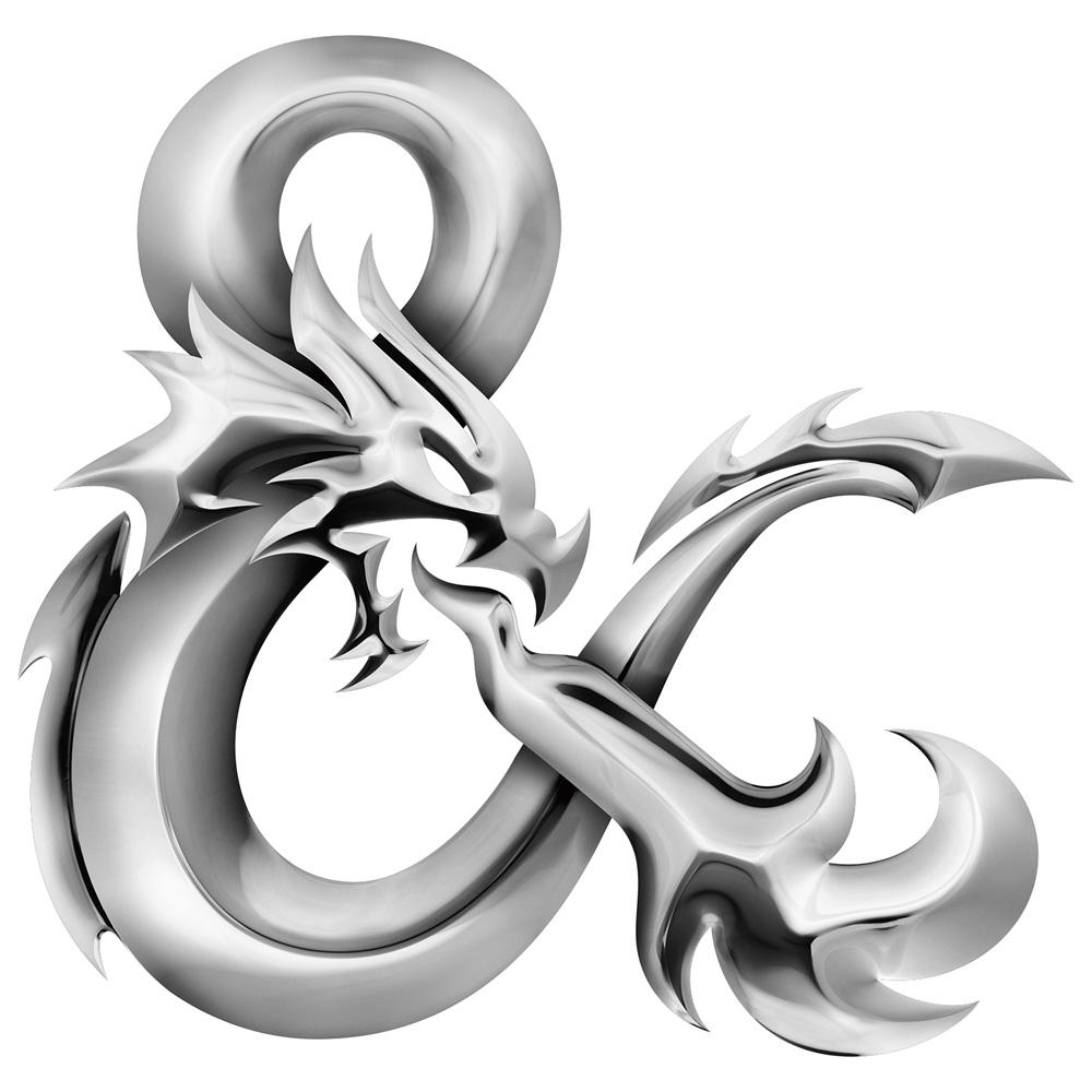 Brand New: New Logo for Dungeons & Dragons by Glitschka Studios.