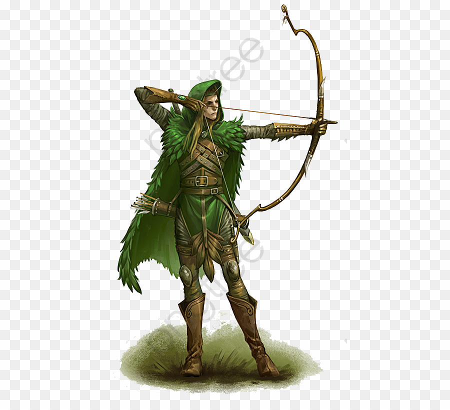 D&d Elf Archer PNG Dungeons & Dragons Pathfinder Roleplaying Game.