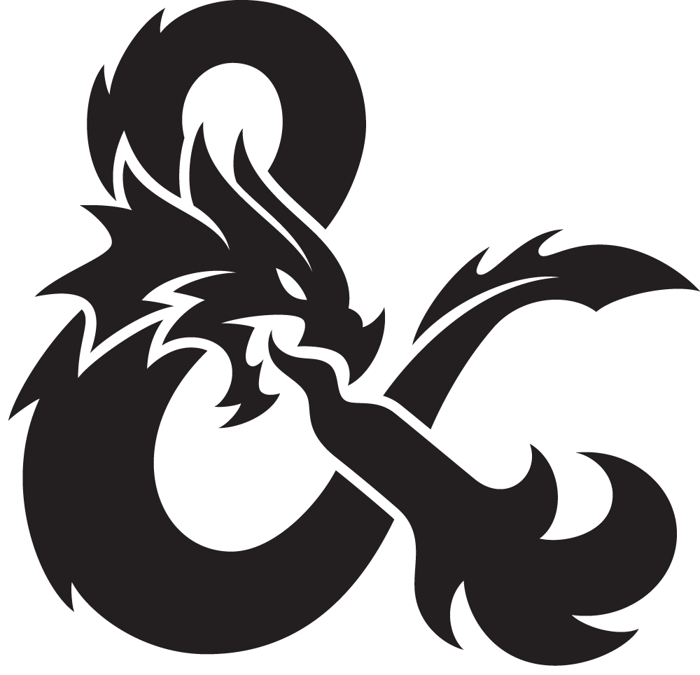 Brand New: New Logo for Dungeons & Dragons by Glitschka Studios.