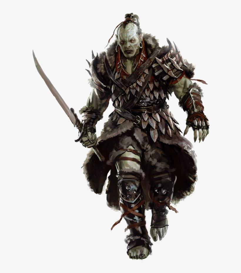 Download Free png Samurai Transparent Orc Png D&d Orc Warrior Free.