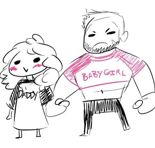 Daddy girl clipart.