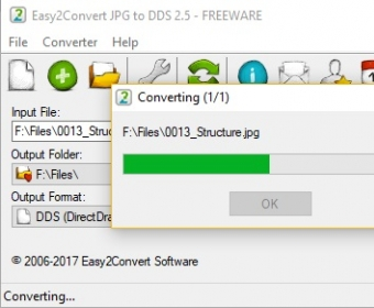 Easy2Convert JPG to DDS 2.0 Download (Free).