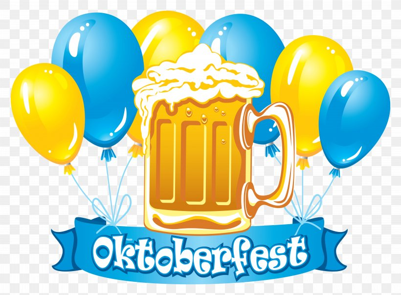 Oktoberfest Celebrations Beer Clip Art, PNG, 6380x4700px.