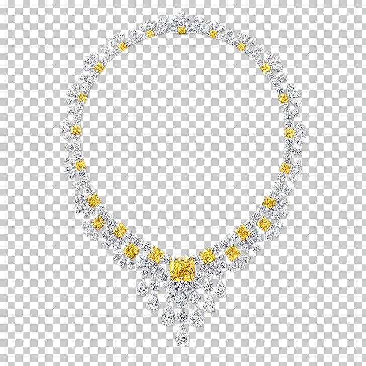 Jewellery Necklace Graff Diamonds De Beers, Jewellery PNG.