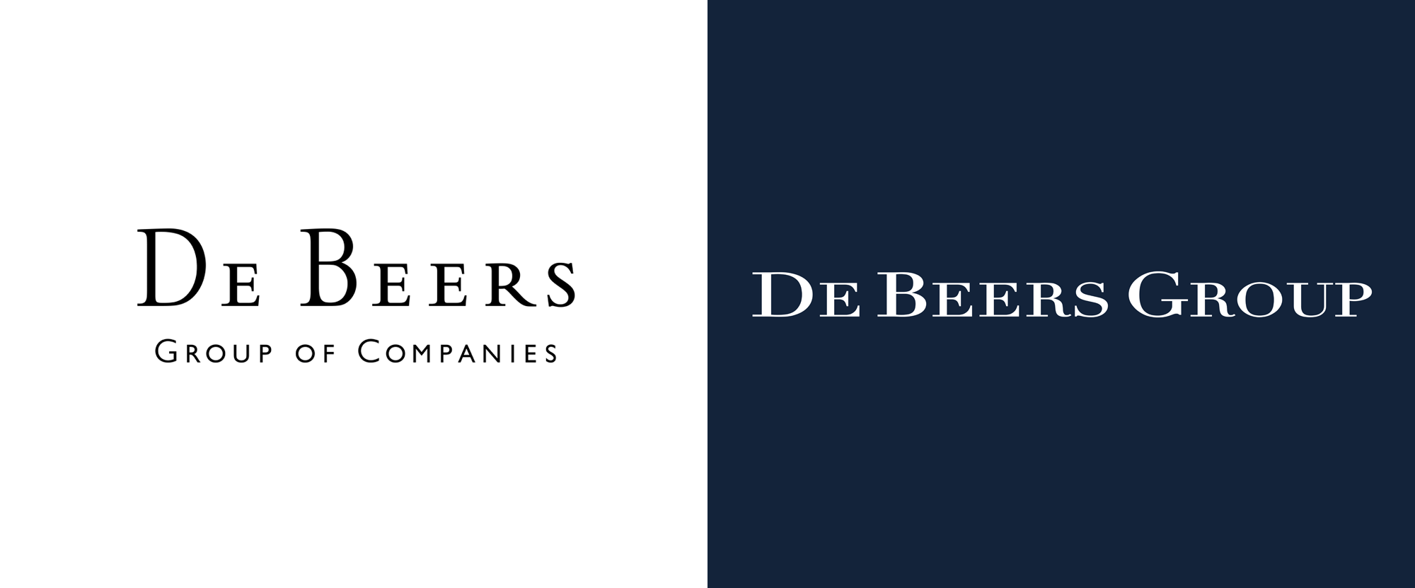 Brand New: New Logo and Identity for De Beers Group by PW.
