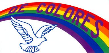 De Colores Rooster Clipart.