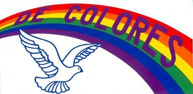 De Colores Rooster Clip Art.