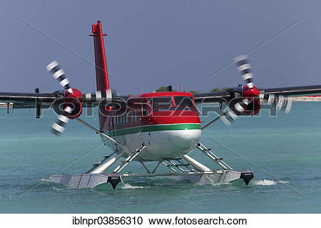 "Stock Photography of ""Hydroplane, De Havilland Canada DHC."