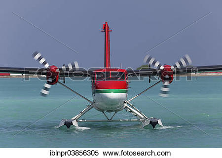 "Stock Image of ""Hydroplane, De Havilland Canada DHC."
