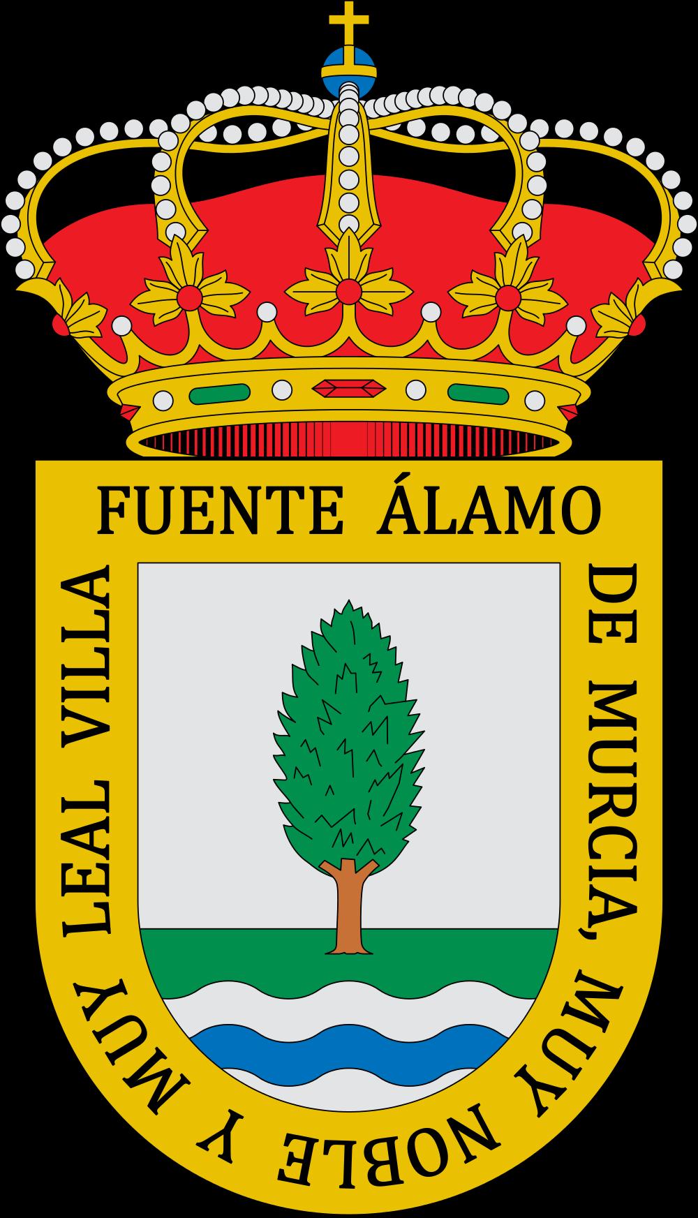 File:Escudo de Fuente Álamo de Murcia (Murcia).svg.