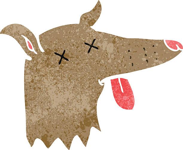 Dead Animals Cartoon Clip Art, Vector Images & Illustrations.