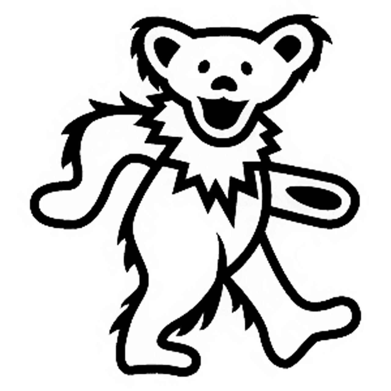 Grateful Dead Dancing Bear.