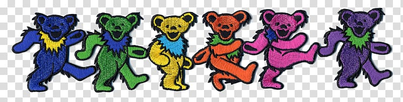 The Grateful Dead Steal Your Face Bear Skeletons from the.