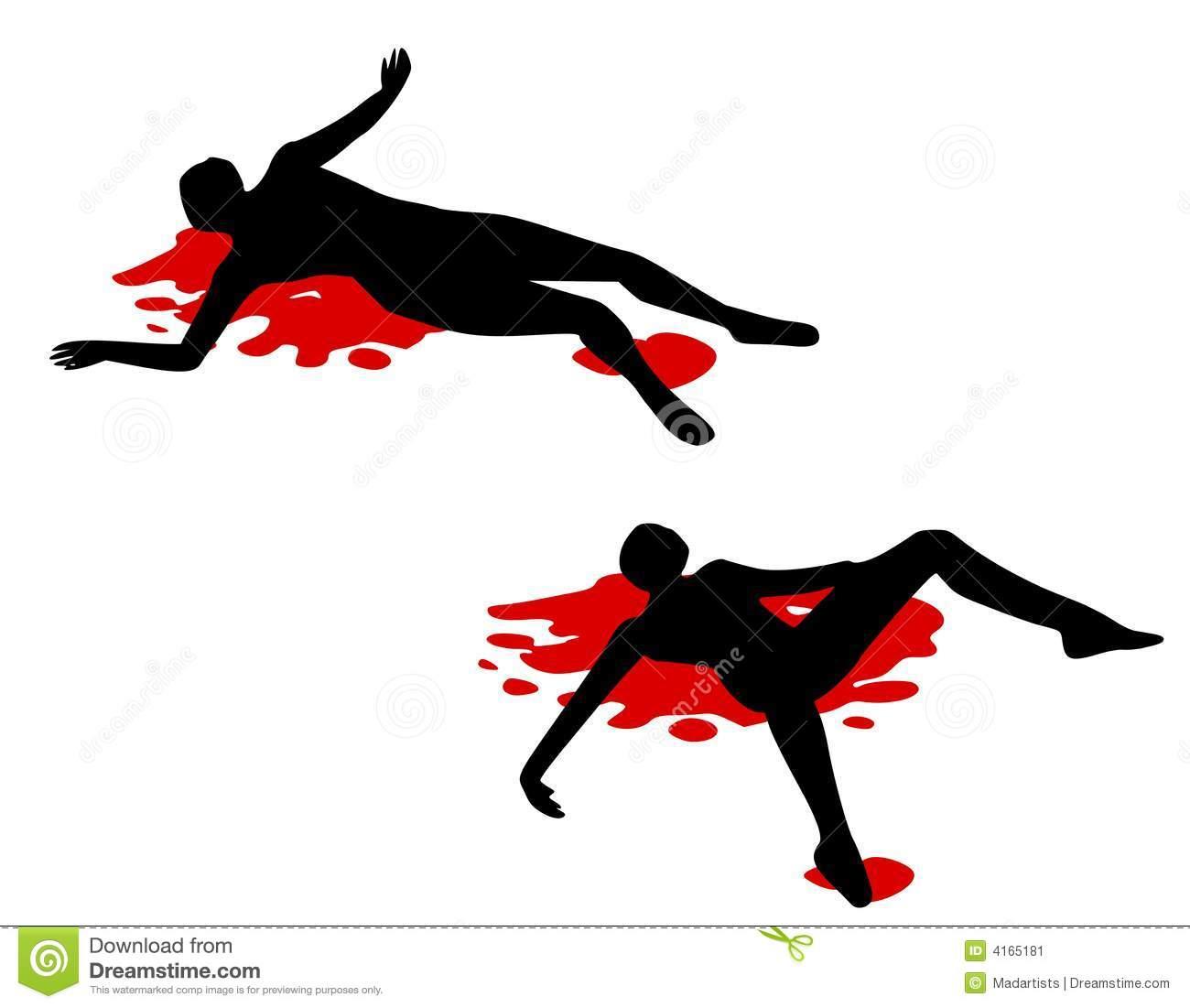 Clip Art Dead Body Clipart.