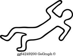 Dead Body Clip Art.