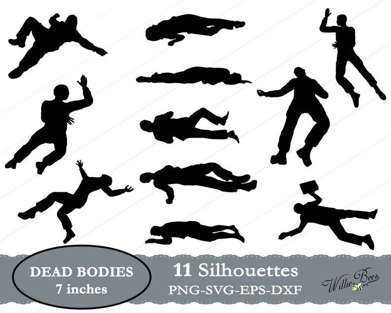 Dead Body SVG, Deceased People, Killed, Dead People, Body Clipart, Bury,  SVG Cut File, Deceased Bodies, Dead Men And Women, INSTANT Download.