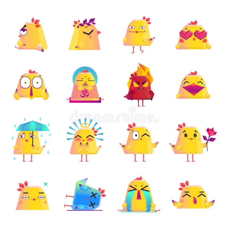 Dead Chicken Stock Illustrations.
