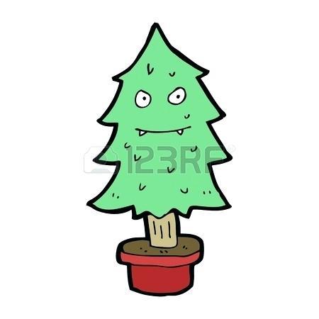 Evil Christmas Tree Image 0 Eye.