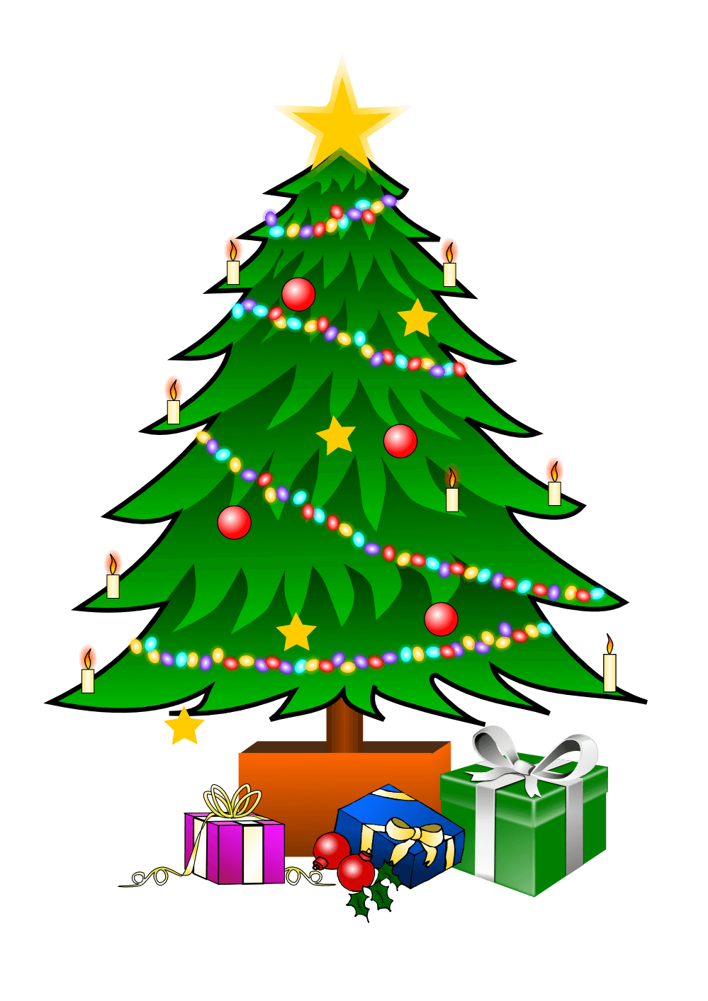 Christmas Tree Clipart.