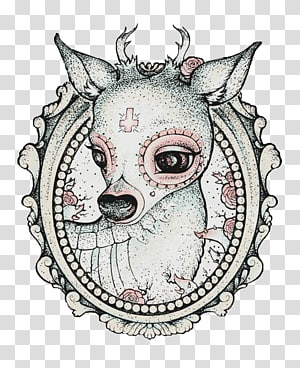 Dead Deer transparent background PNG cliparts free download.