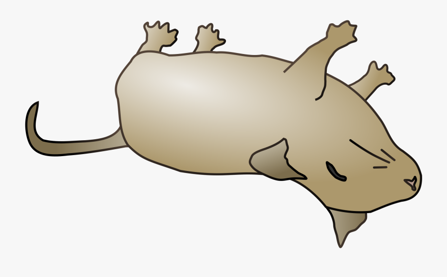 28 Collection Of Dead Mouse Clipart.